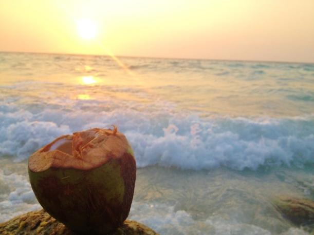 Coco-Loco at Sunset - Playa Blanca