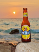 Aguila at Sunset