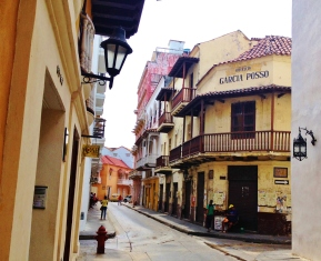 Another lovely Cartagena street