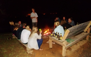 Nights by the fire with the magic box