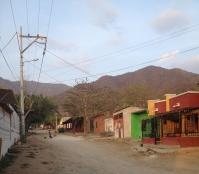 Dusty streets of Taganga