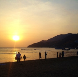 The Taganga Sunset