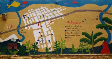 Street map of Palomino