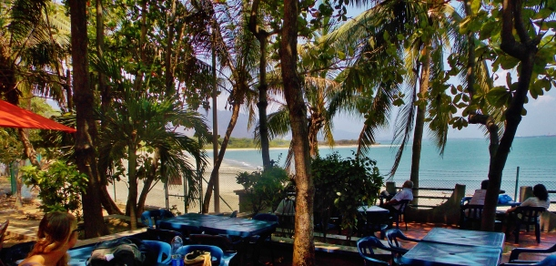 Santa Marta beach side airport