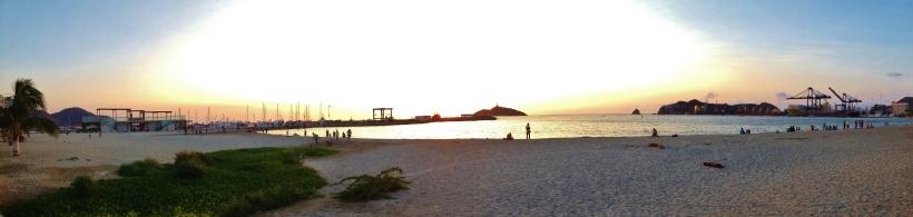 Santa Marta sea front