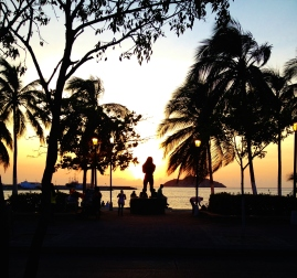 Sea front of Santa Marta