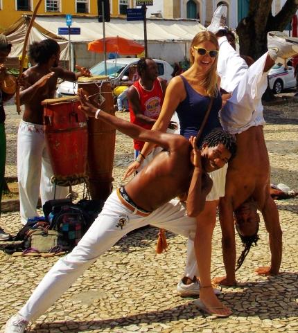 Capoeira shake down