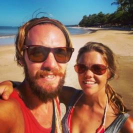 4th beach selfie Morro de São Paolo