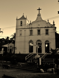 Church of Morro de São Paolo. The island has a really old feel to it in places