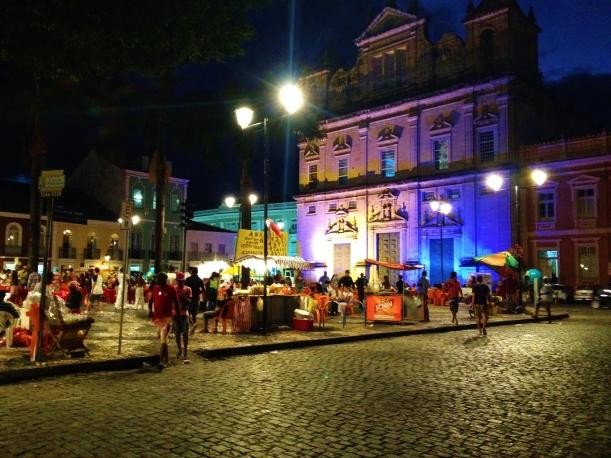 Central Square in the Pelourinho - Salvador