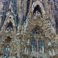 Close up Sagrada Família