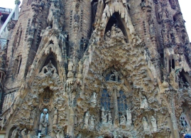 Close up Sagrada Família