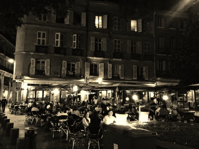 Place St George by night