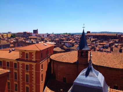 The Toulouse skyline
