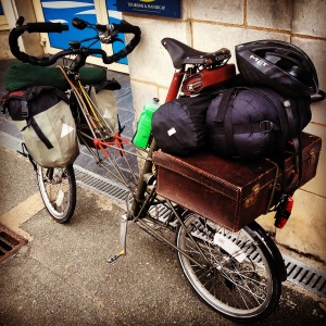 Atlantic to Med bicycle tour: Pt 1 St Malo to Saumur - July 14