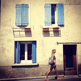 Wandering the streets of Trebes
